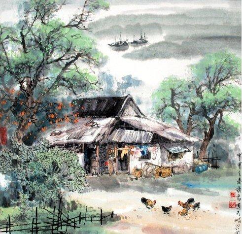 描写自然风景的古诗