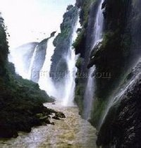 马岭河峡谷风景区