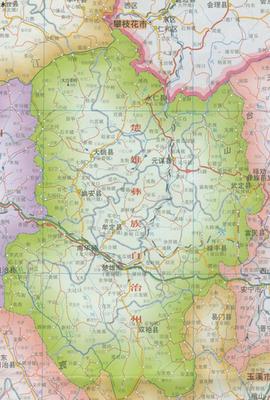 华溪彝族镇地图