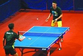双人打乒乓球小游戏_打乒乓球_360百科