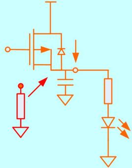 和下级电路之间的输入电容会形成rc延迟