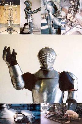 骑士的机器人的内部结构