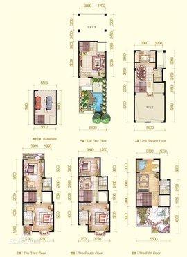 结果使居住空间显得局促而压抑;经过设计师精心改良,新一代叠加式别墅