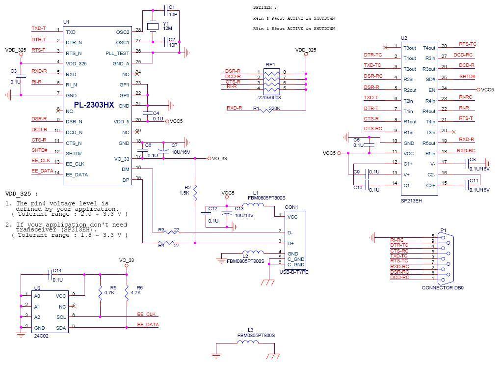 pl2303电路图