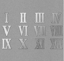 罗马数字图片