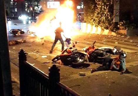 昨天17号曼谷发生爆炸事件,现在已报团9月去泰国,安全