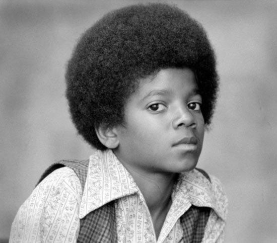 迈克尔·杰克逊童年照图片