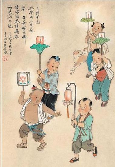七月十五中元节手抄报资料