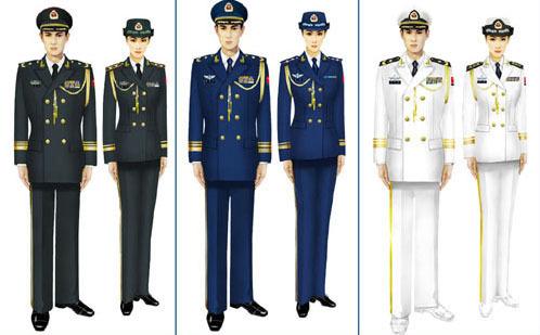 07式军服 夏 常服 裤子军官和 士兵 的是一样的吗 07式军服 夏常服裤子图片