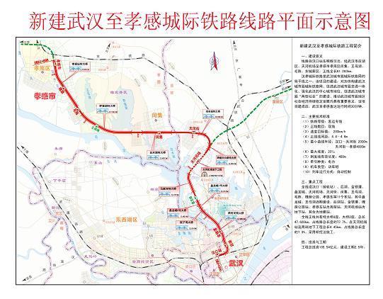 汉十城际铁路规划图