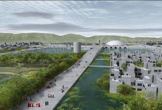 规划中的那烂陀大学新校区