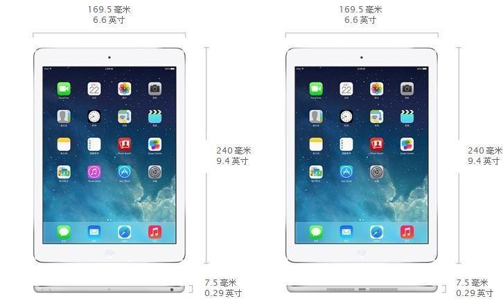 新款ipad mini采用retina视网膜屏幕,升级为a7处理器,增加128gb版本