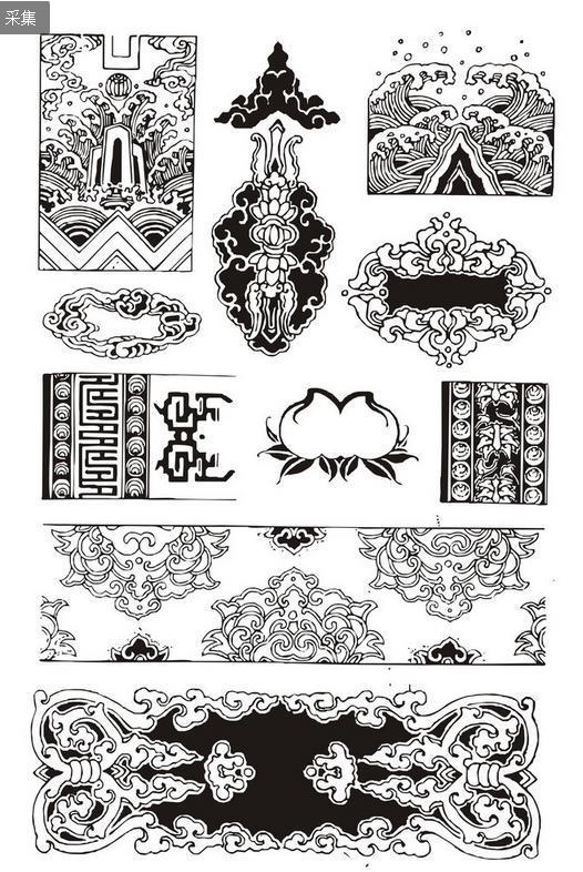 铜器花纹样式图片