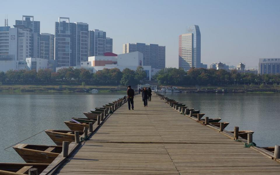 赣州香江半岛区位图