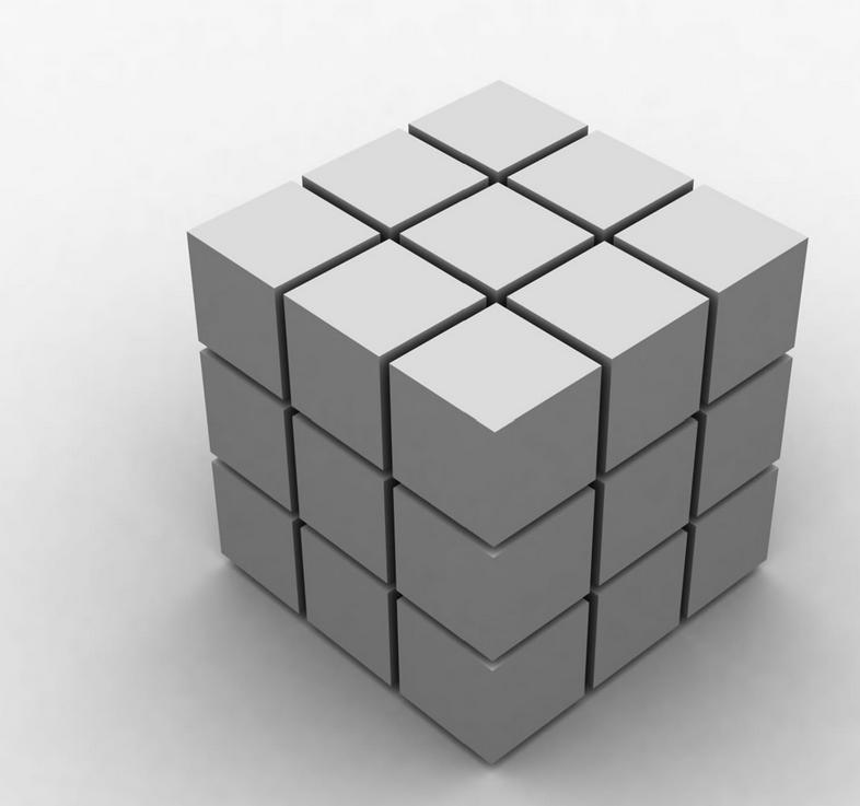 5乘5魔方公式图解