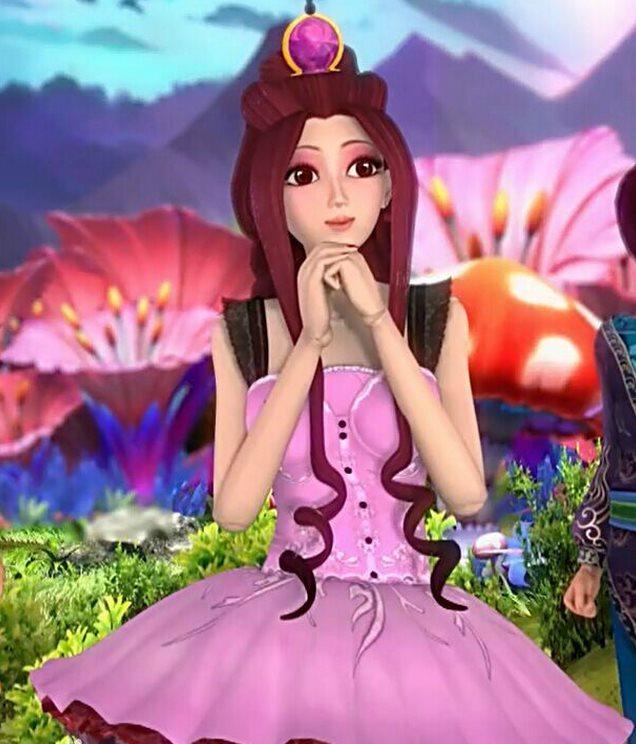 叶罗丽仙子,被女王变成娃娃后图片