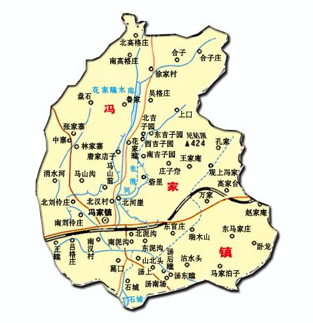 南部县王家镇地图