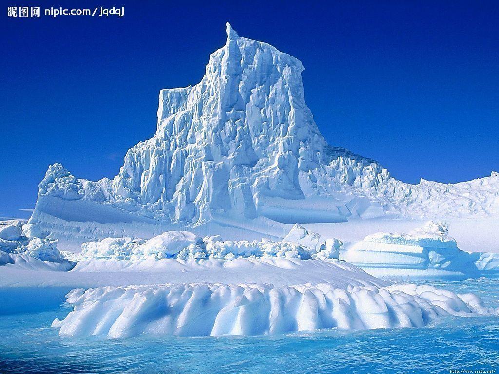 冰川banner图片素材