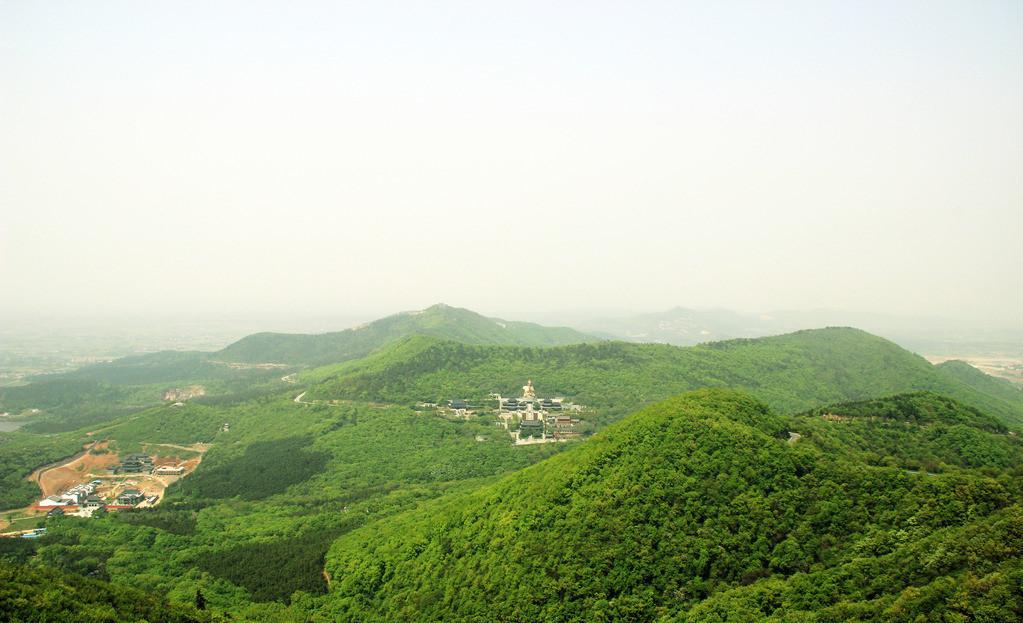 茅山风景区影像图