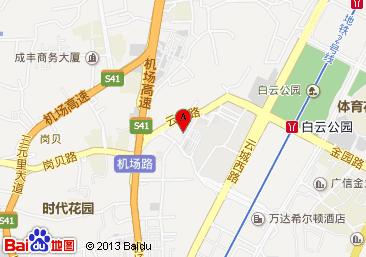 广州戴斯酒店百度地图