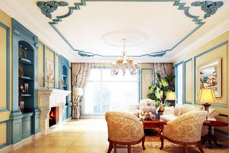 地中海风格的家具以其极具亲和力的田园风情及柔和的色调和组合搭配